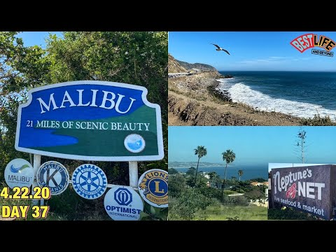 A Tour of Our Town Malibu, California: Scenic Drive up the Coast & Lunch at Neptune's Net! HIWTVI#37