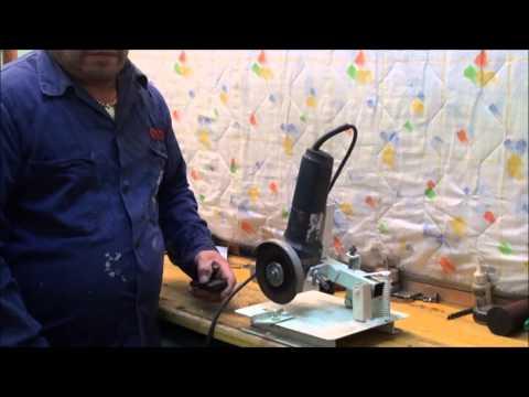 Soporte para amoladora casero support for home grinder - Discos para ingletadora ...