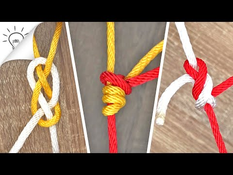 10 Basic Knots You Need To Learn - วันที่ 21 Jul 2019