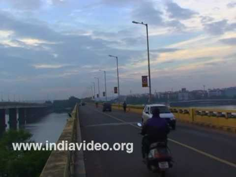Panjim Bridge or the Mandovi Bridge, Goa