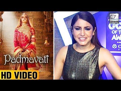 Anushka Sharma's DUMB Reply On Deepika Padukone's Padmavati Look  LehrenTV