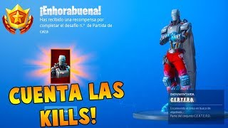 I get the SKIN C.E.R.T.E.R.O. or A.I.M of the FORTNITE BATTLE PASS! 🤖😱