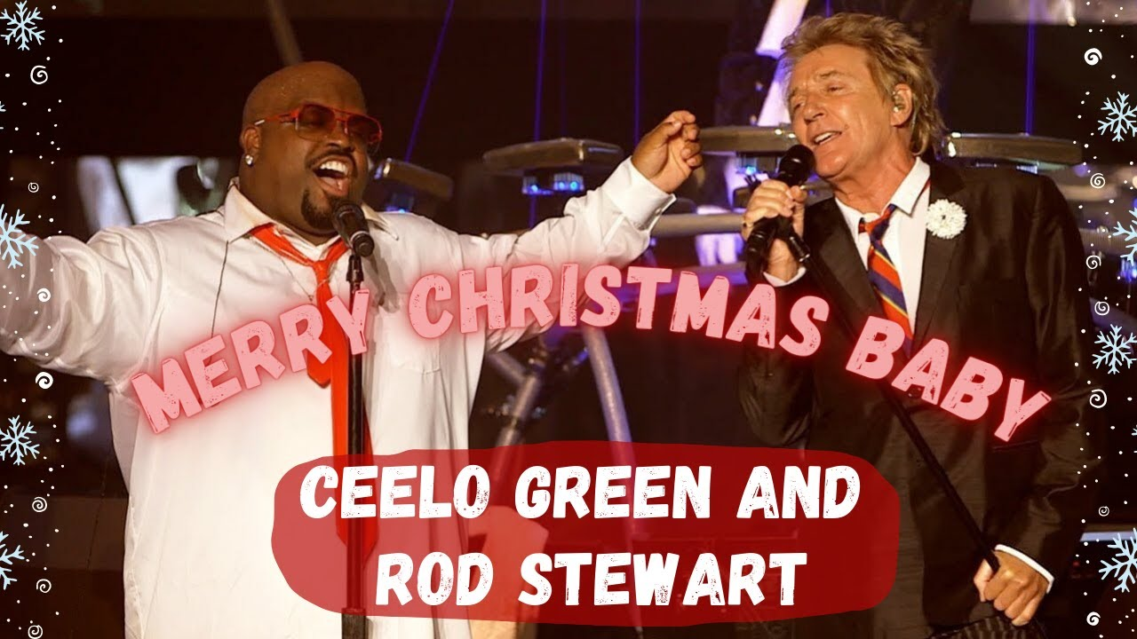 "Merry Christmas Everyone! Rod Stewart and Cee-Lo Rock ""Merry Christmas Baby"""
