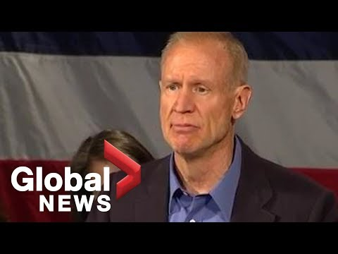 Midterm Elections: Illinois incumbent governor Bruce Rauner concedes race