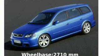 2002 Opel Astra OPC Station Wagon - Specs and Features