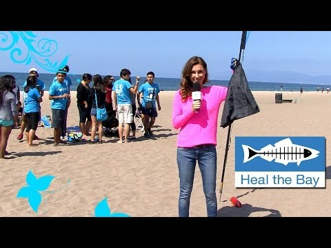 Heal the Bay Coastal CleanUp 2013 - Green With Tiffany