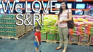 WE LOVE S&R! (Costco) April 2, 2013 Vlog | makeupbykarlamisa