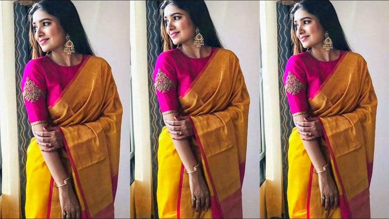Beautiful Simple Saree Designs For Daily Wear | Simple Saree Looks For Lockdown Celebrations