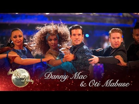 Danny Mac & Oti Tango to 'One Night Only' from Dream girls - Strictly Come Dancing 2016: Week 11