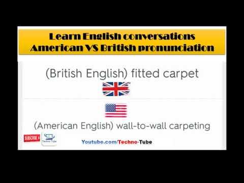 Download Learn english conversations American VS Britsh pronunciation