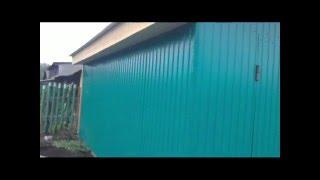 Каркасный гараж своими руками(Вот построил каркасный гараж, на все это дело ушло 2 недели строил один, поэтому и долго., 2015-09-30T12:38:01.000Z)