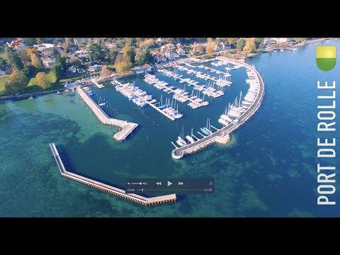 Nouveau Port Ouest De Rolle Suisse 31.10.2017