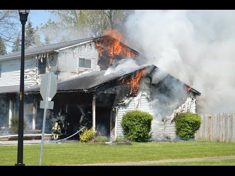 Ellicott Creek FD Structure Fire - 167 Parkhaven Dr