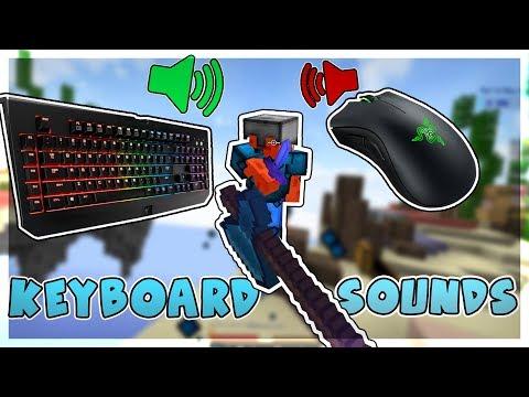 Keyboard and Mouse Sounds v2 (HANDCAM) - Ranked Skywars