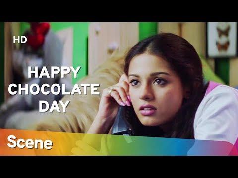'Shahid Kapoor' Childhood Crush Of Amirta Rao | Romantic Scene | Ishq Vishk - Valentine Day Special