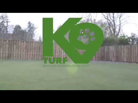 K9 Turf ProFlow Polyurethane Artificial Grass For Dogs 4 Phase Install  System