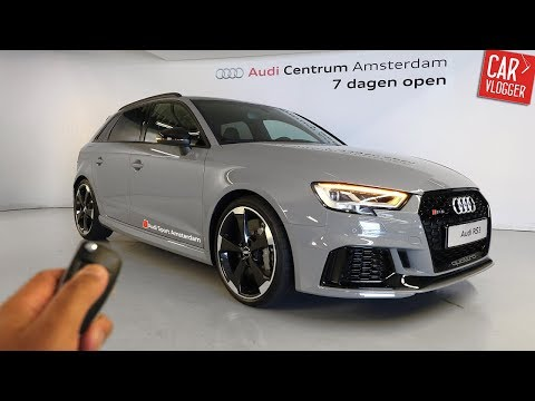 INSIDE the NEW Audi RS3 Sportback 2017 | Interior Exterior DETAILS w/ REVS
