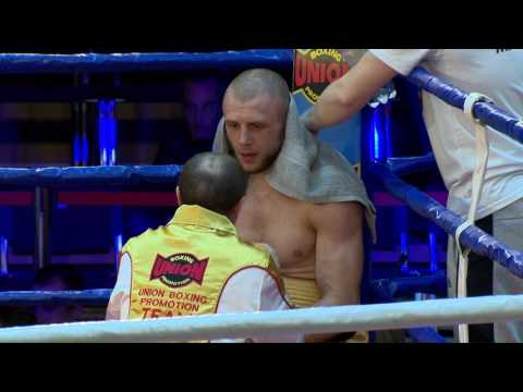 Pro Boxing Show 22/04/2017, Kyiv, UKR. Super Middleweight Ig