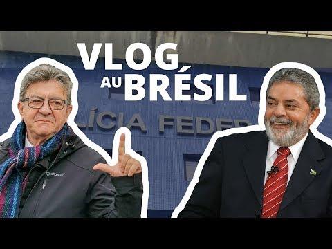 VLOG - Au BRÉSIL avec LULA, prisonnier politique - #StopLawfare