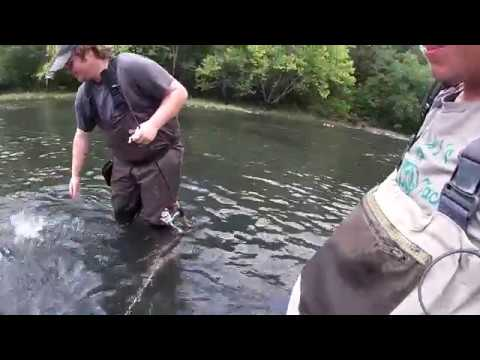 Fishing The River At Beaver's Bend State Park