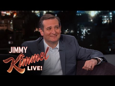 Jimmy Kimmel Asks Senator Ted Cruz Random Questions