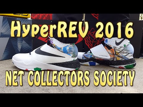 Nike HyperRev 2016 Net Collectors Society Review with ON FEET