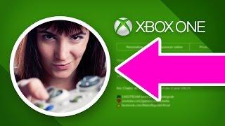 SUA FOTO NO XBOX!! 📷 Como Colocar Foto Personalizada no Perfil do Xbox One