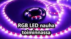 RGB LED nauha
