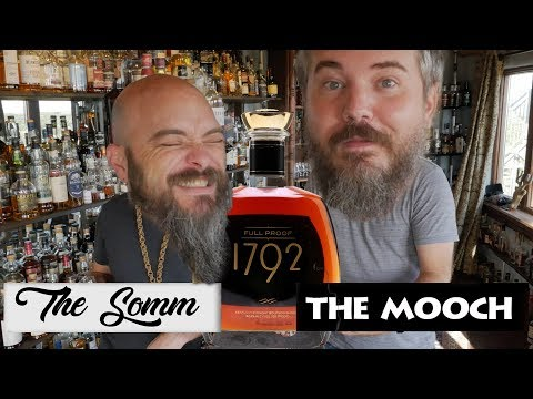 Whiskey Review: 1792 Full Proof Bourbon with 1792 Classic Comparison