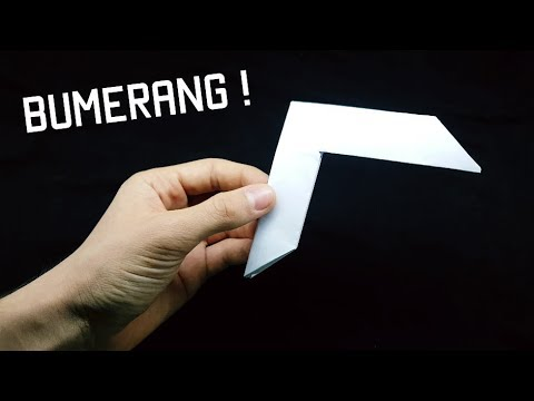 ✈️ Bumerang Papierflieger Origami falten - paper boomerang plane ... | 360x480