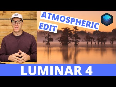 How to create breathtaking and dreamy landscapes || Luminar 4 Tutorial thumbnail