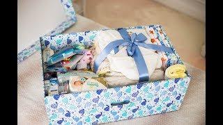 Подарок для новорожденного Russian Baby Box. Что в коробочке?