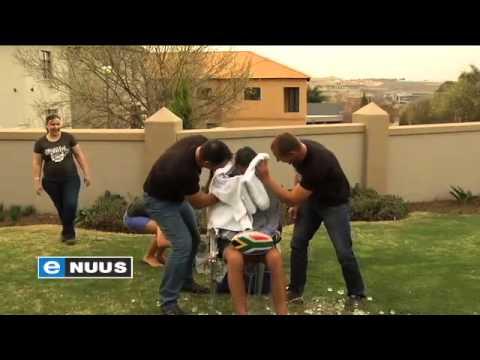Joost se Ice Bucket Challenge / Joosts Ice Bucket Challenge