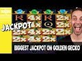 GOLDEN Line Hit on GOLDEN Gecko 🎰 More High Limit Slots ...