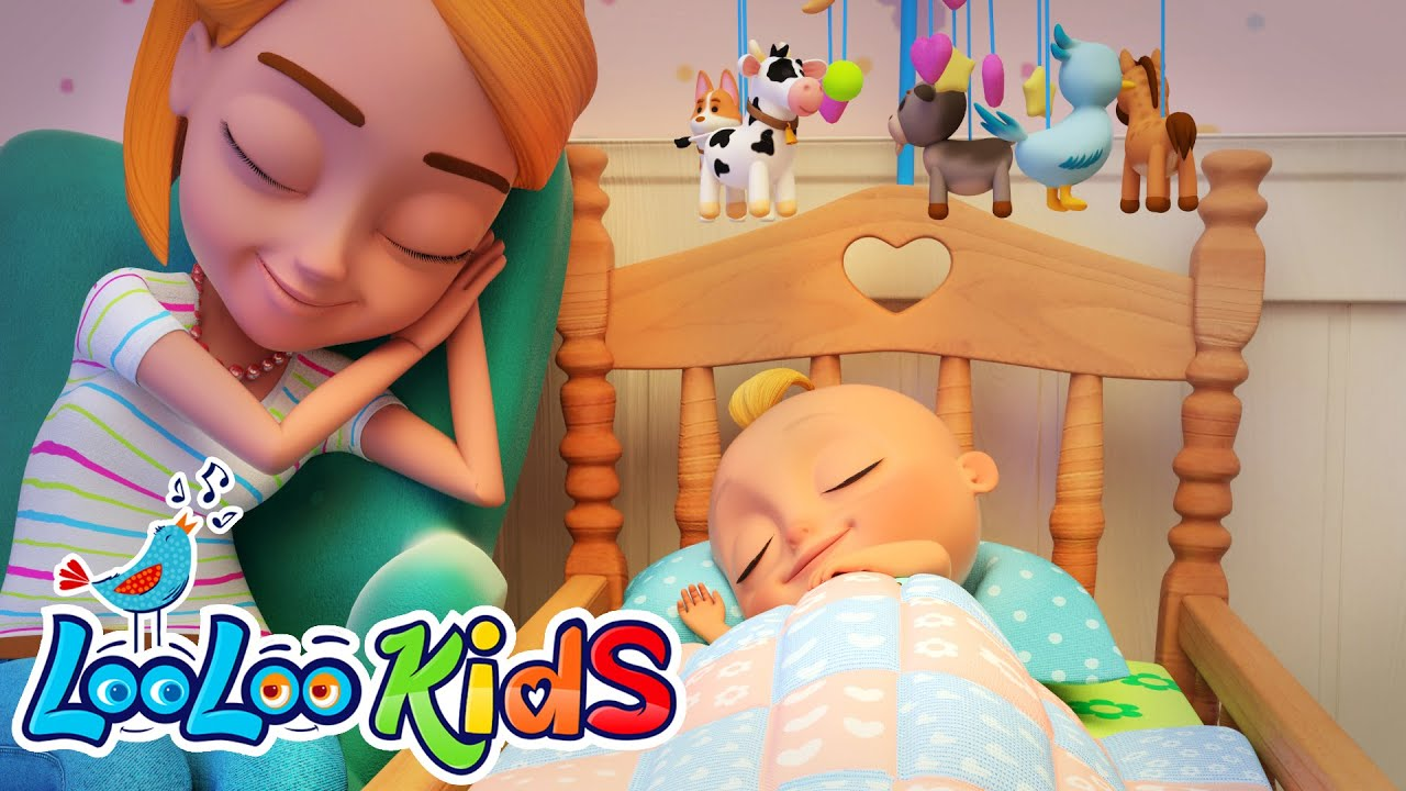 Hush Little Baby - Lullaby Song for Babies | LooLoo KIDS