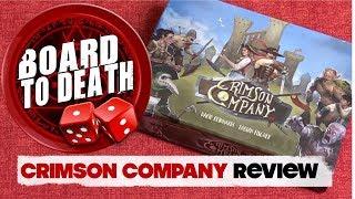 Crimson Company Board Game Video Review