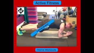 6 Minute Abs Workout,  Blast Your 6 Pack.