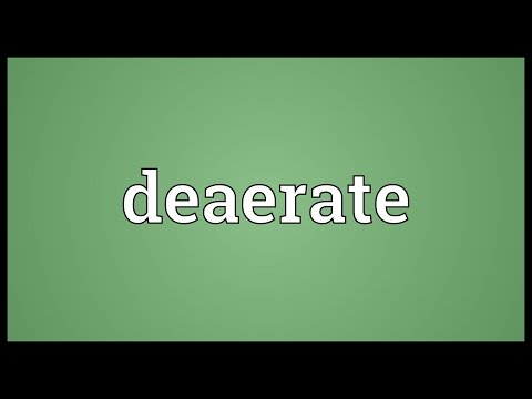 Header of deaerate
