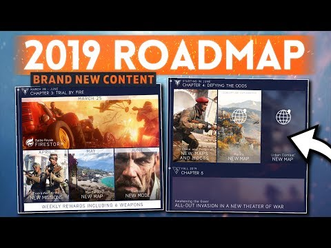 NEW 2019 ROADMAP UPDATED: Full Details! - Battlefield 5 (3+ New Maps, Modes & New Theatre of War!) thumbnail