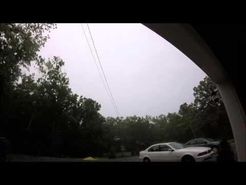 July 15th, 2015 Lightning and Hail, Storm Vlog# 4