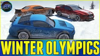 TOP GEAR WINTER OLYMPICS!!! - The Crew Online w/ BlackPanthaa, CustomMapCinema, DrTom