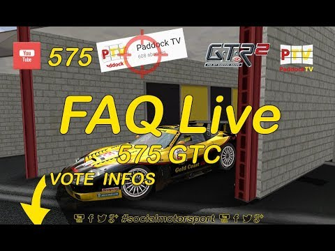 Socialmotorsport #1 - FAQ, GTR2 & 575 GTC