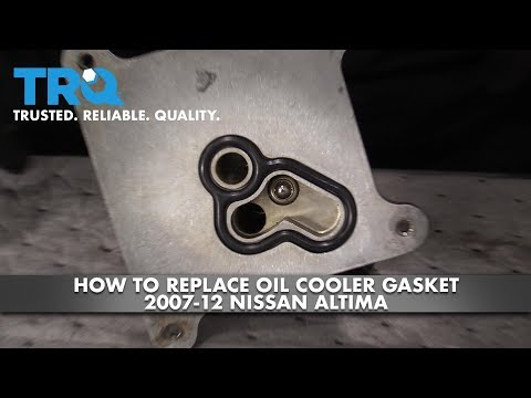 How to Replace Oil Cooler Gasket 2007-12 Nissan Altima