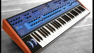 Dave Smith Poly Evolver Synthesizer -  Synth-Pop Demo, by al l bo