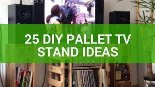 25 DIY Pallet TV Stand Ideas