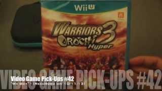 Video Game Pick-Ups #42 - Wii Box