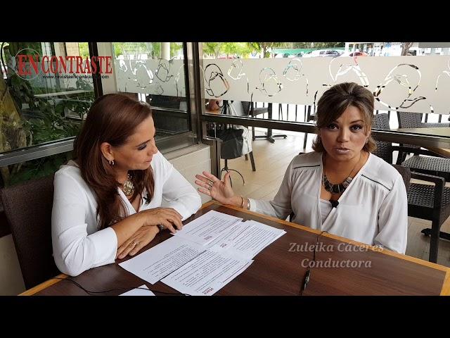 Mara Lezama, de la comunicación a la política