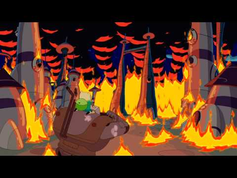 Adventure Time - Hot to the Touch/Five Short Graybles
