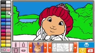 NEW Peter Rabbit Coloring Pages 2015 - - Peter Rabbit Painting Games - Peter Rabbit Colouring Games