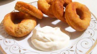 Готовим нежные пончики на кефире видео рецепт